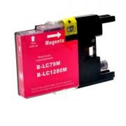 BROTHER LC1280 XL M magenta - kompatibilná náplň do tlačiarne Brother