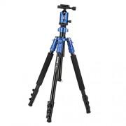 ELECTROPRIMEÃ'® M7 Professional Heavy Duty Aluminium Tripod Ball Head for DSLR Camera Blue