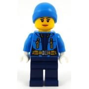 cty0931 Minifigurina LEGO City-Explorator Arctic fata cty0931