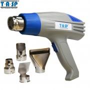 TASP 2000W Electric Hot Air Gun Temperature Adjustable Heat Gun with 4 Nozzles Power Tools