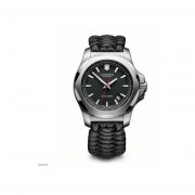 Reloj Analógico Hombre Victorinox Set Inox Naimakka + Bumper 241726.1 - Negro