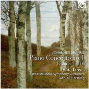 Unbranded Brahms / Lewis, Paul Harding, Daniel - Piano Concerto No.1 - Ballades Op.10 [CD] USA import /