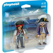 PLAYMOBIL - SET 2 FIGURINE - PIRAT SI SOLDAT (PM6846)