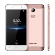 HOMTOM HT37 PRO 5.0 Pulgadas Telefono 4G Con 3 GB De RAM? ROM De 32 GB - Oro Rosa (enchufe De La UE)