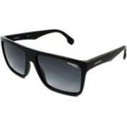 Carrera Rectangular Sunglasses(Black)