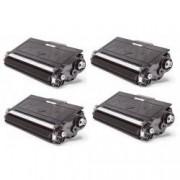 Pack de 4 tóners compatibles para Brother TN-3380