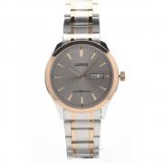 Lorus RXN52DX-9 deux tons avec montre-bracelet de jour et de date