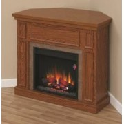Semineu cu focar electric ClassicFlame NEWCASTLE Embossed Oak