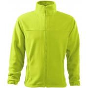 ADLER Jacket 280 Pánská fleece bunda 50162 limetková M