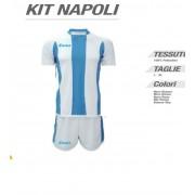 Zeus- Completo Calcio Kit Napoli Manica Corta