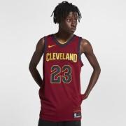 Maillot connecté Nike NBA LeBron James Icon Edition Authentic (Cleveland Cavaliers) pour Homme - Rouge