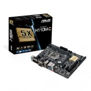Matična ploča Asus LGA1151 H110M-C DDR4/SATA3/GLAN/7.1/USB 3.0