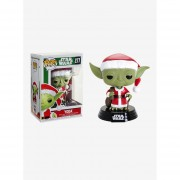 Funko Pop Yoda navideño de Star Wars