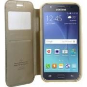 Husa Flip Goospery My-Noble Samsung Galaxy J5 J500 2015 Auriu