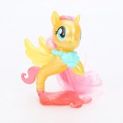My Little Pony the Movie Fluttershy Rainbow Dash Pinkie Pie Seapony PVC Action Figures Shiny Pony Colletion Model Dolls Gift Toy