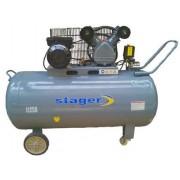 Compresor de aer Stager HM-V-0.25/250, 3 CP, 250 L, 8 BAR