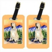 Caroline's Treasures SS8169BT Brazilian Mastiff & Fila Brasileiro Luggage Tag(Multicolor)