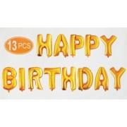 Set 13 baloane Happy Birthday