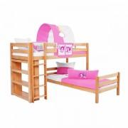 Dečiji krevet na sprat Emil Natur Princess
