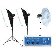 Kit Blitz de Studio Falcon Eyes SSK-3200D cu Geanta si Trigger