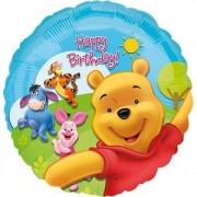 Balon folie Pooh & Friends Happy Birthday 43cm