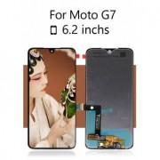 Display cu touchscreen Motorola Moto G7 Original Negru
