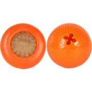 Jucarie Bento Ball Starmark mica portocaliu diametru aprox. 6 cm pentru caini