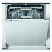 Съдомиялна за вграждане Whirlpool WIO 3T133 DEL, клас А+++, 14 комплекта, 11 програми, 6-то чувство, LCD дисплей, бяла