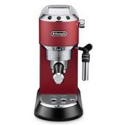 Espressor manual DeLonghi Dedica Style EC685.R, 1300 W, 15 Bar, 1.1 l, Slim (Rosu)
