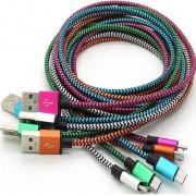 Kabl USB 2.0 na microUSB M/M metal color Horizons, 1m