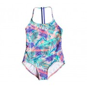 Roxy Retro Swimsuit Junior, 12, Blå
