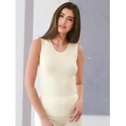 Medima Dames Hemd met ronde hals Van Medima wit