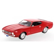 Motormax - 1/24 American Classics Die-Cast Collection 1971 Ford Mustang Sports Roof (Red)