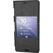 Sony SCR24 Style Up Cover for Xperia Z3 - Black