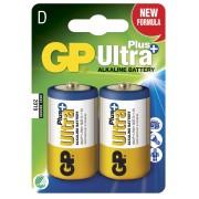 Blister 2 Batterie Torcia D GP Ultra Plus