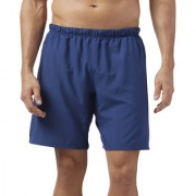 Reebok Navy Blue Polyester Shorts for Men