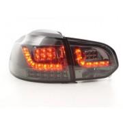 FK-Automotive luci posteriori LED VW Golf 6 tipo 1K anno di costr. 2008-2012 nero con indicatore LED