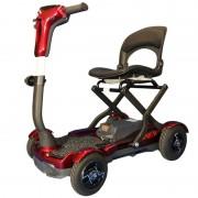 Scooter per disabili pieghevole a trolley con apertura elettrica e batteria al litio S26