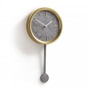 Kave Home Relógio de parede Nexus em dourado