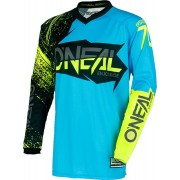 Oneal O´Neal Element Burnout Jersey Azul/Amarillo XL