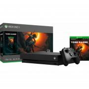 Consola Xbox One X 1TB Shadow Of The Tomb Raider Bundle