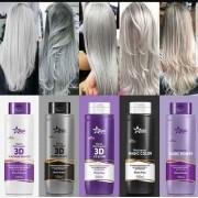 Matizador Toner Gloss ANTI GEEL zilver shampoo GRAFIET 500ml verbluffende effecten