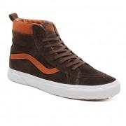 Vans Skate shoes Vans Sk8-Hi Mte suede/chocolate torte