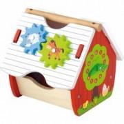 Ferma de lemn Viga Toys cu activitati