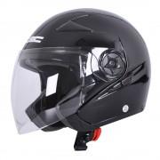 W-tec Moto Přilba W-Tec Neikko Black Shine L (59-60)