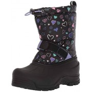 Northside Frosty Winter Boot (Toddler/Little Kid/Big Kid),Black/Purple,Size 8 Medium US Toddler