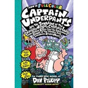 Captain Underpants and the Invasion of the Incredibly Naughty Cafeteria Ladies from Outer Space: Color Edition (Captain Underpants '3), Hardcover/Dav Pilkey