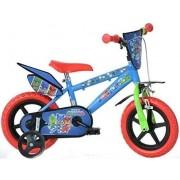 """Bicicleta copii DINO BIKES 412UL-PJ, Roti 12"""", EROII IN PIJAMA"""