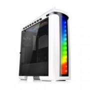 Кутия Thermaltake Versa C22 RGB Snow Edition CA-1G9-00M6WN-00, ATX, 2x USB 3.0 2x USB 2.0, Audio In/Out, LED Control, бяла, без захранване