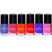 Laperla Multicolor Nail Polish Set of 06 PCs-LNP904